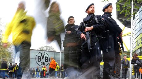 الشرطة الألمانية قرب ملعب دورتموند