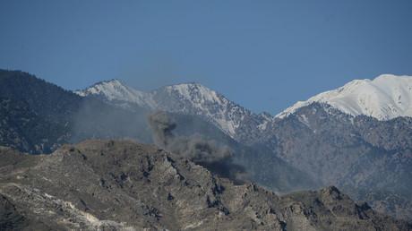 """استخدام """"أم القنابل"""" على مواقع تابعة لداعش في ولاية ننغرهار شرقي أفغانستان"""