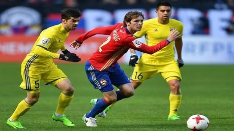 تسيسكا يواصل نزيف النقاط في الدوري الروسي