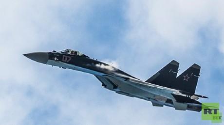 """مقاتلة """"سو-35"""" الاعتراضية الروسية"""