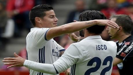 """إيسكو ينقذ ريال مدريد من كمين خيخون في مباراة """"مجنونة"""""""