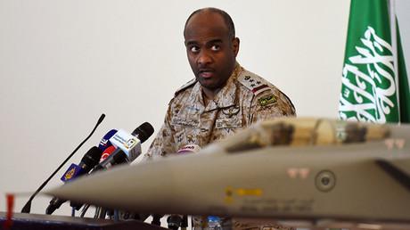 أحمد عسيري مستشار وزير الدفاع السعودي والمتحدث باسم قوات التحالف العربي