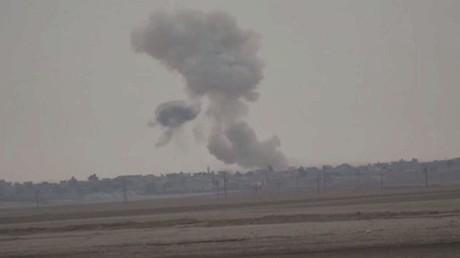 القوات العراقية تتعرض لهجوم بالكيماوي