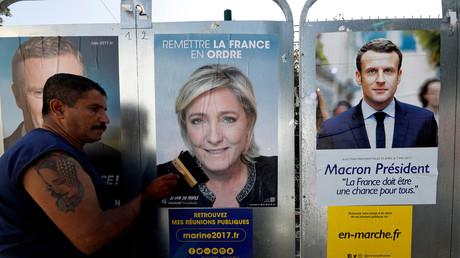 ملصقات انتخابية في فرنسا