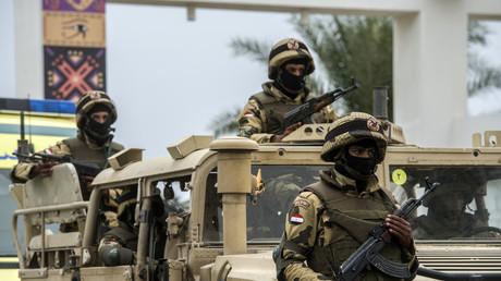 أفراد من الجيش المصري - أرشيف