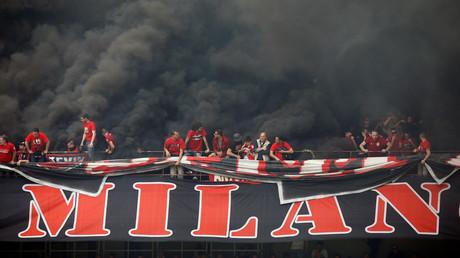 جماهير نادي ميلان الإيطالي