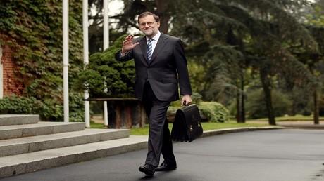 رئيس الوزراء الإسباني، ماريانو راخوي