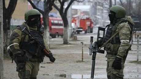 قوات خاصة روسية تداهم الإرهابيين بداغستان