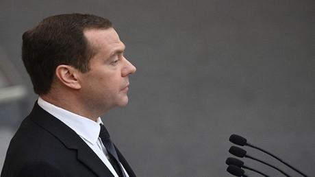 رئيس الوزراء دميتري مدفيديف