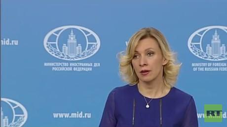 مؤتمر صحفي للمتحدثة باسم وزارة الخارجية الروسية