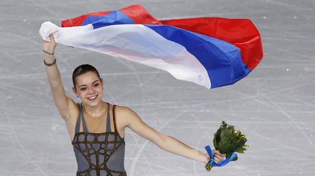 البطلة الأولمبية الروسية أديلينا سوتنيكوفا