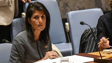 مندوبة واشنطن لدى الأمم المتحدة نيكي هايلي