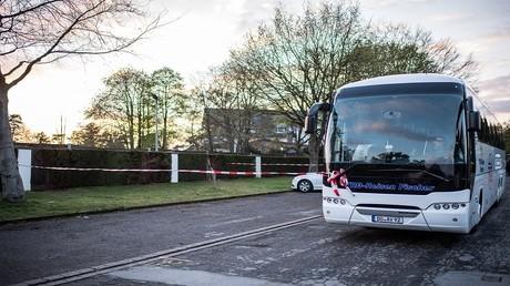 حافلة كانت تقل لاعبي نادي بوروسيا لكرة القدم، تعرضت للهجوم