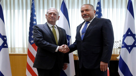 وزيرا الدفاع الأمريكي والإسرائيلي