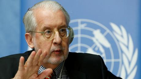 سيرجيو بينيرو، رئيس اللجنة الدولية المستقلة للتحقيق في انتهاكات حقوق الانسان في سوريا