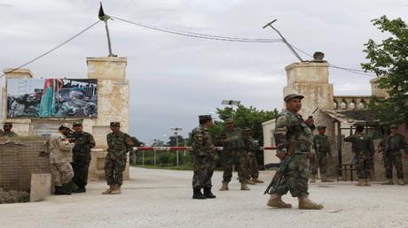 عسكرية عسكرية أفغانية في ولاية مزار شريف