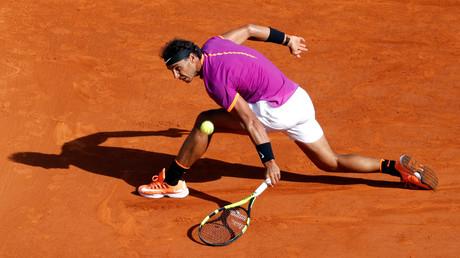لاعب التنس الإسباني رافاييل نادال