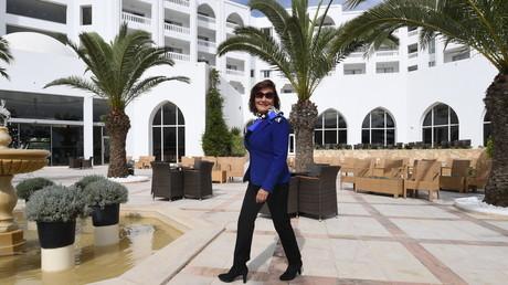 زهرة ادريس مالكة فندق إمبريال مرحبا في سوسة تتجول في الفندق الذي تعرض لهجوم إرهابي قبل عامين