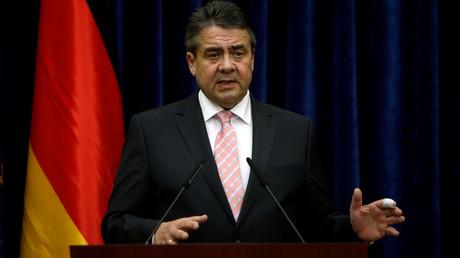 وزير الخارجية الألماني، زيغمار هابرييل.