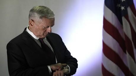 جيمس ماتيس وزير الدفاع الأمريكي