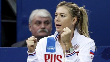 النجمة الروسية ماريا شارابوفا