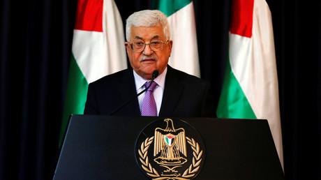 الرئيس الفلسطيني، محمود عباس.