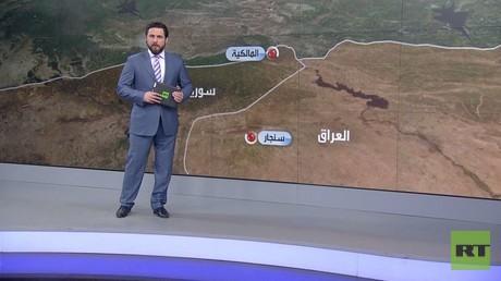 بغداد وأربيل تدينان قصف تركيا على سنجار