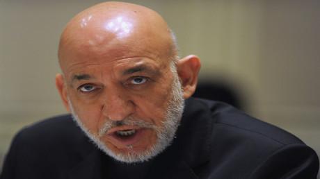 رئيس أفغانستان السابق حامد كرزاي
