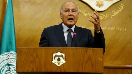 أحمد أبو الغيط الأمين العام للجامعة العربية.