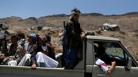 عناصر من مسلحي الحوثي - أرشيف -