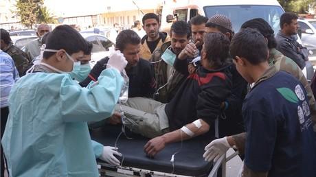 أحد ضحايا الهجوم على خان شيخون
