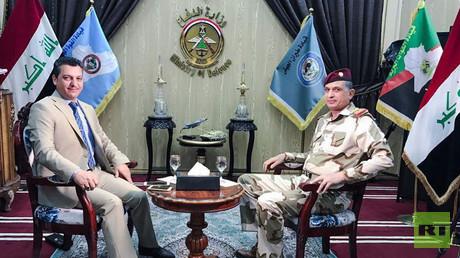 مقابلة خاصة مع رئيس أركان الجيش العراقي الفريق أول الركن عثمان الغانمي