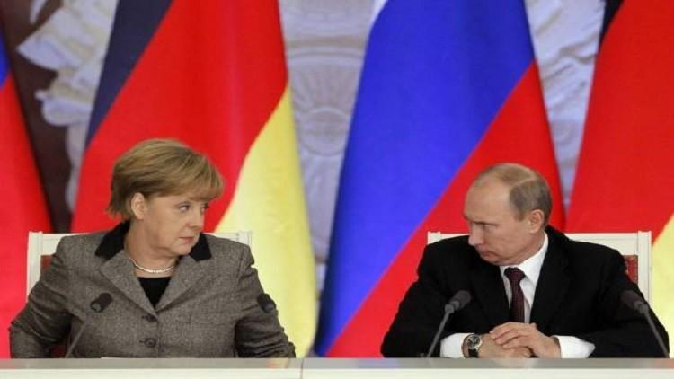 لِـمَ يلتقي بوتين وميركل في سوتشي؟