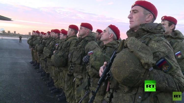 انتشار قوات روسية في عفرين السورية قرب الحدود التركية