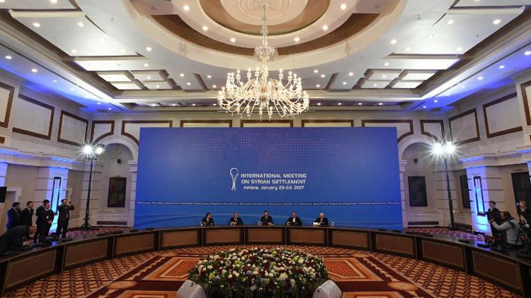 خبراء من الدول الضامنة للهدنة السورية يعقدون لقاءات ثنائية في أستانا
