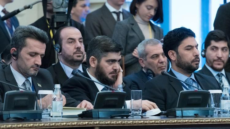 مطالب المعارضة السورية المطروحة في أستانا