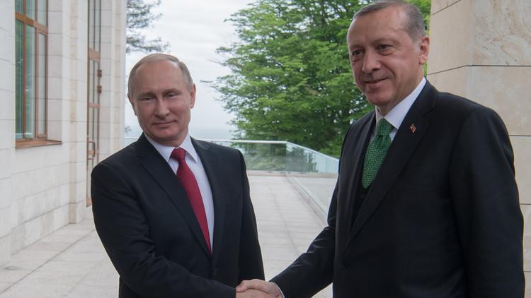 أردوغان يقترح على بوتين تغيير مصير الشرق الأوسط