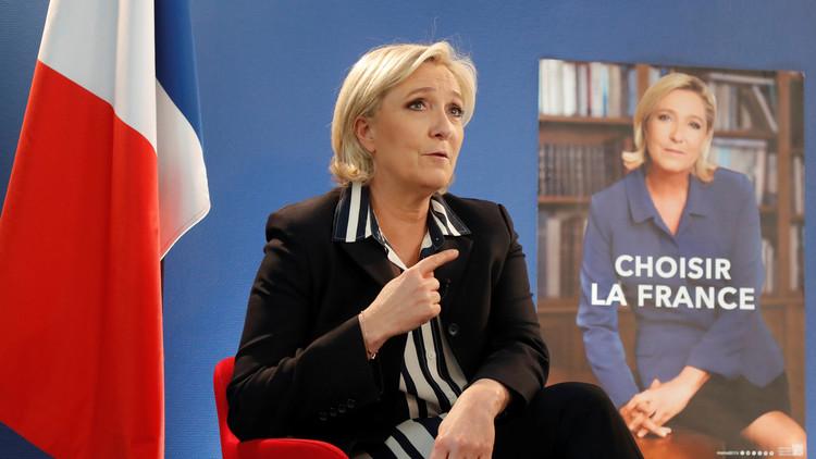 لوبان: أمام الفرنسيين إمرأتان أنا أو ميركل!