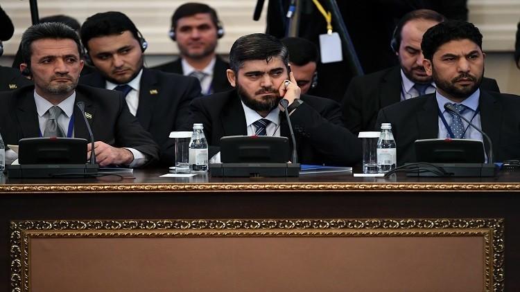 مصدر يرجح عودة وفد المعارضة السورية للمشاركة في مفاوضات أستانا
