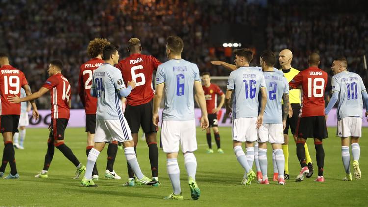 مانشستر يونايتد يقترب من نهائي الدوري الأوروبي
