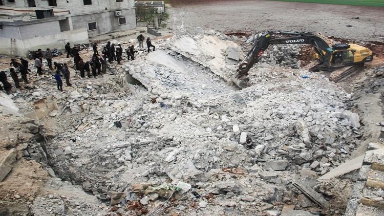 CNN: البنتاغون يعترف بقصف مسجد شمال سوريا