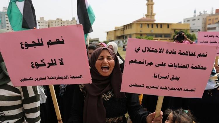 الاتحاد الأوروبي يعبر عن قلقه من استمرار إضراب الأسرى الفلسطينيين