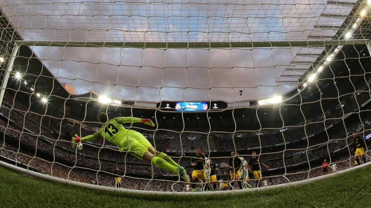 أتلتيكو مدريد يعزز موقعه في المركز الثالث للدوري الإسباني