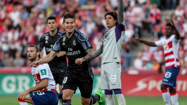 ريال مدريد يكتفي برباعية في شباك غرناطة الجريح