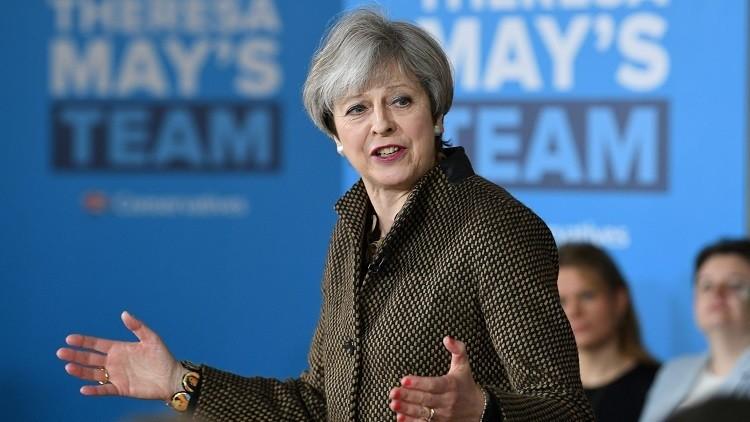تيريزا ماي تعد بضبط عدد المهاجرين إلى بريطانيا