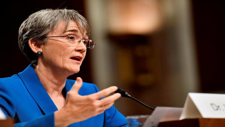 مجلس الشيوخ الأمريكي يصادق على ترشيح ويلسون لمنصب وزير سلاح الجو