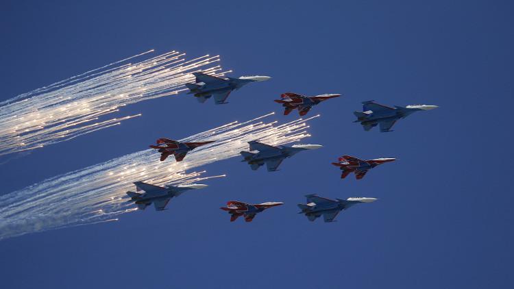 إلغاء العرض الجوي العسكري بمناسبة عيد النصر لسوء الأحوال الجوية في موسكو