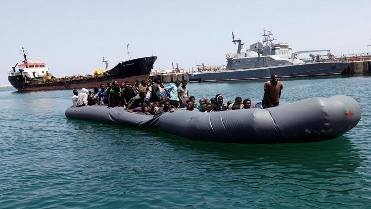 البحر المتوسط يبتلع 250 مهاجرا خلال 24 ساعة