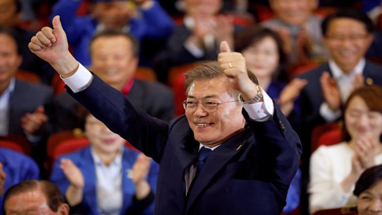 مرشح ديمقراطي يقترب من الفوز برئاسة كوريا الجنوبية