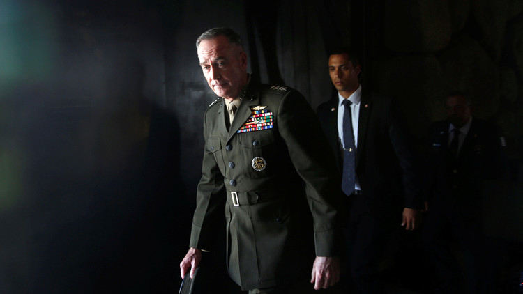 رئيس هيئة الأركان الأمريكية يبحث في إسرائيل الأوضاع الأمنية في المنطقة